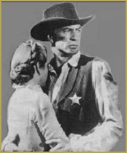 Gary Cooper und Grace Kelly in High Noon